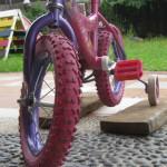 The Bike Lesson: Pedaling Around and Around!