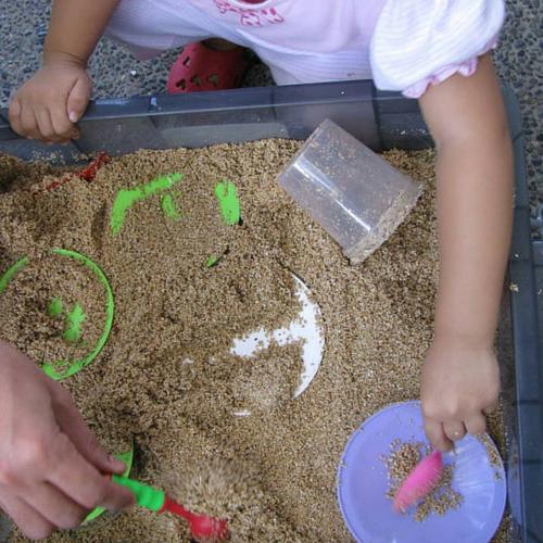 sandbox - top view