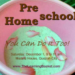 Preschool Homeschool: You Can Do It Too! ~ Round Two