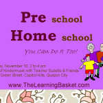 Preschool Homeschool: You Can Do It Too!
