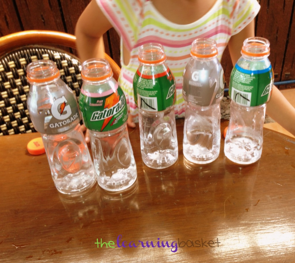 Bottles Sound Experiments