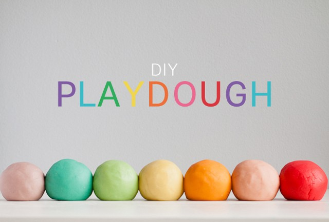 Make your own play dough.