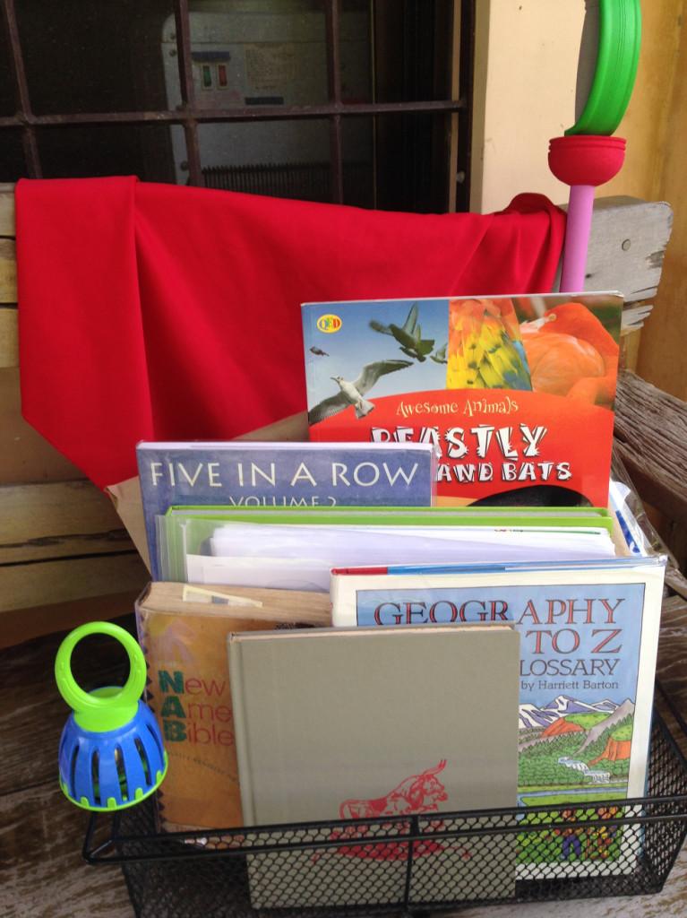 story of ferdinand learning basket