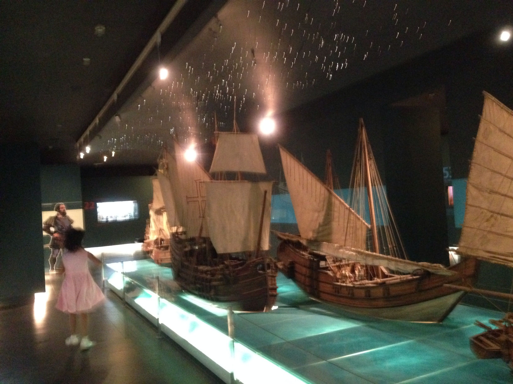 Ayala Museum ships