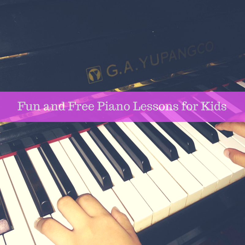 Free Piano Lessons at Home