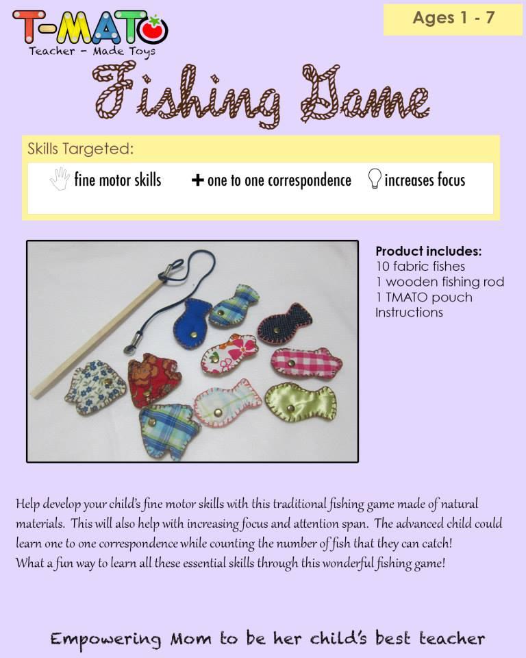 T-Mato Fishing Game