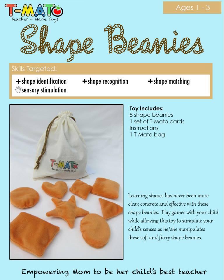 T-Mato Shape Beanies
