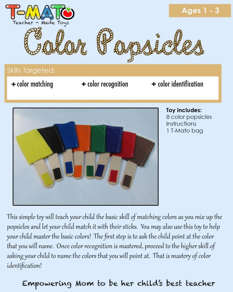 T-Mato color Popsicles