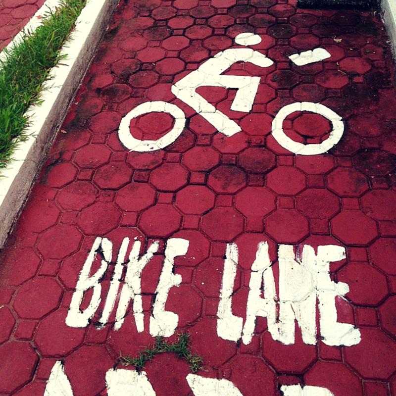 MMDA Children's Road Safety Park bike lane