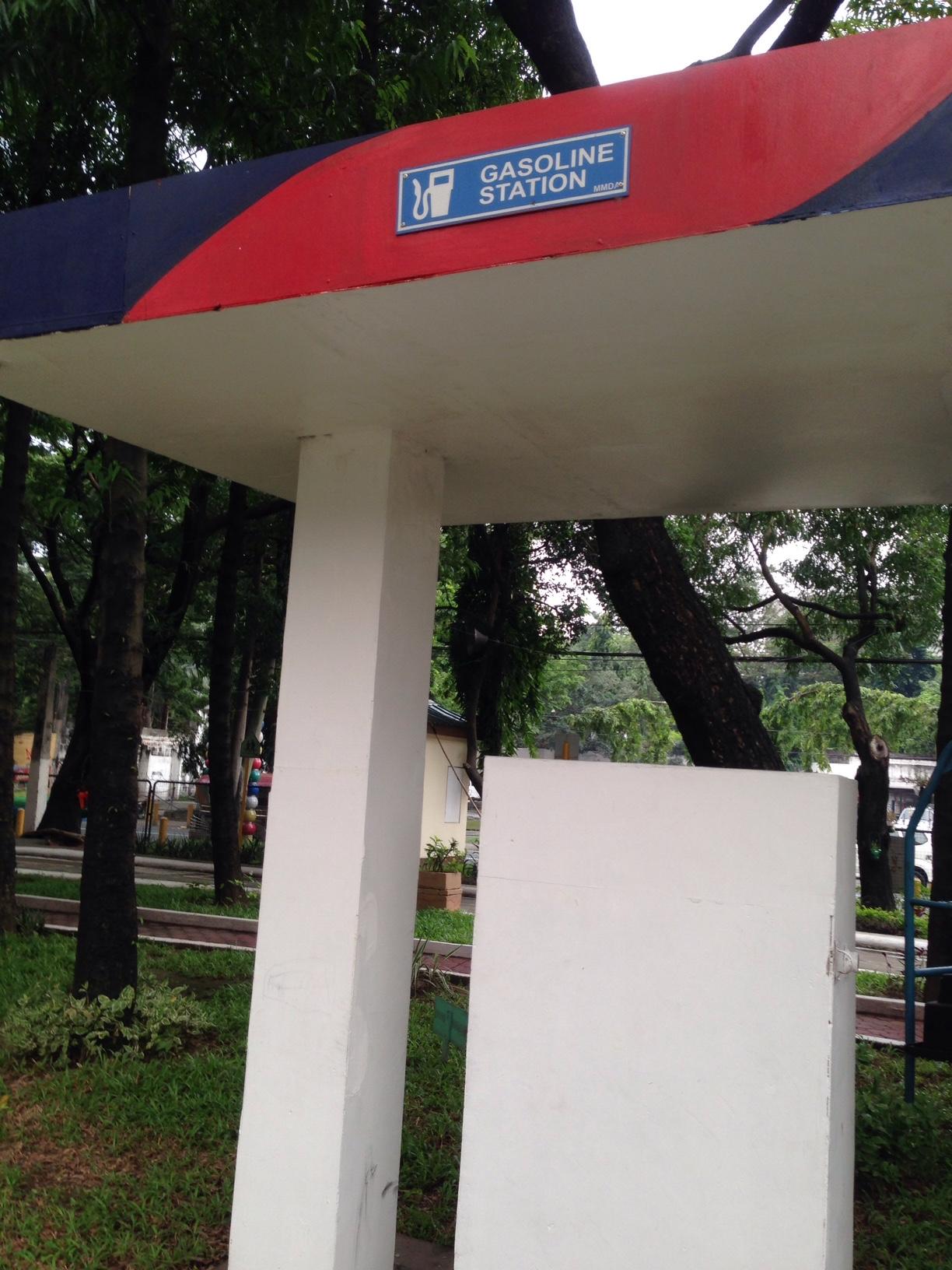 MMDA Children's Road Safety Park gas station