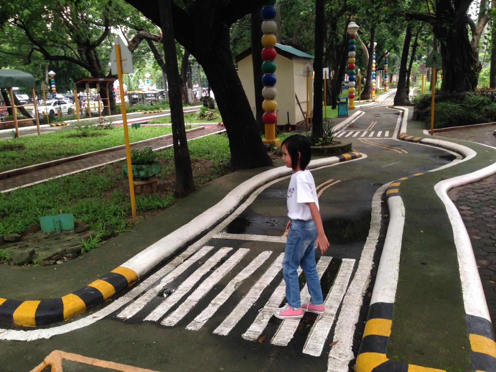 MMDA Children's Road Safety Park pedestrian crossing