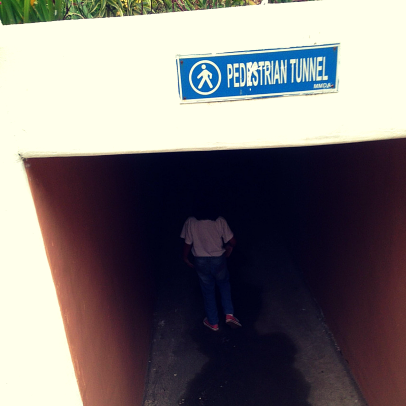 MMDA Children's Road Safety Park pedestrian tunnel