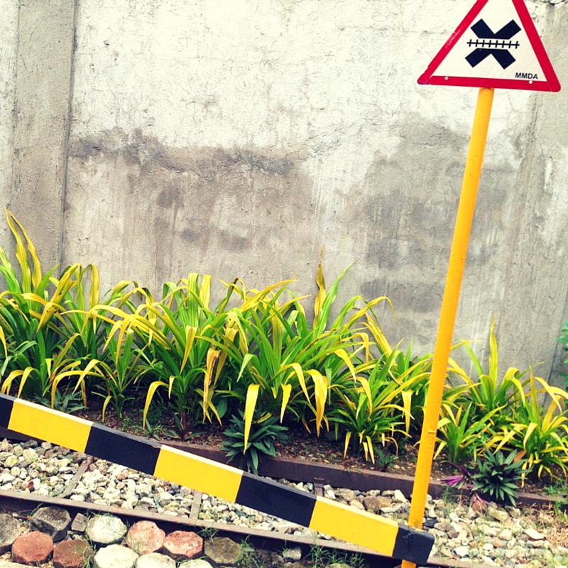 MMDA Children's Road Safety Park train track