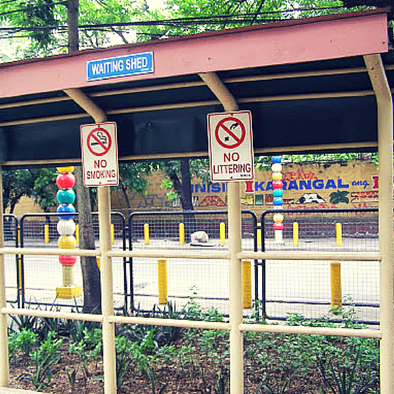 MMDA Children's Road Safety Park waiting shed