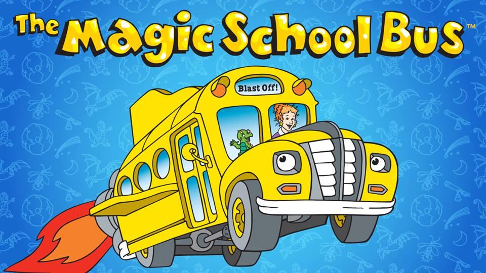Magic School Bus Png Magic School Bus Vcds