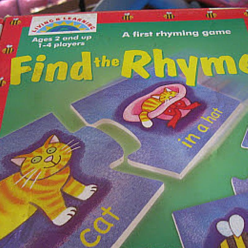 rhyme game