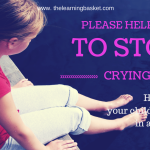 How to handle your child's meltdowns in a positive way