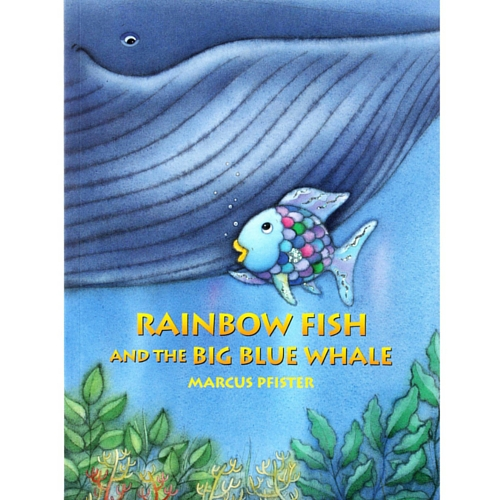 Rainbow fish and the big blue whale hardcover the for Rainbow fish and the big blue whale