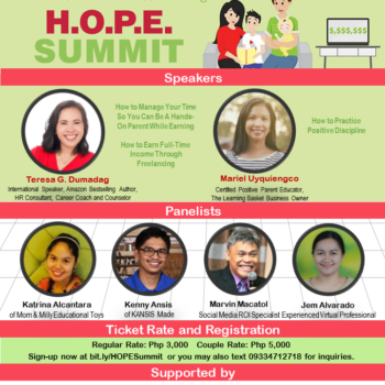 {Other Event} The H.O.P.E. Summit 2017 by Full Life Cube Publishing