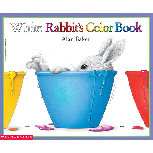 White Rabbit\'s Color Book - The Learning Basket